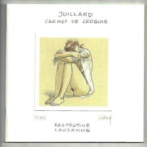 JUILLARD-CARNET-DE-CROQUIS-RASPOUTINE-EO-FLAMBANT-NEUF