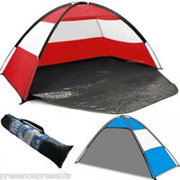 Beach Tent With Door & Carry Bag Sun+wind+rain Shelter Garden Fishing Break