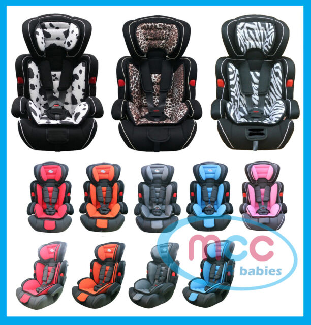 Bebe Style 3in1 Convertible Child Baby Car Seat Safety Booster Group 1//2//3 9-36