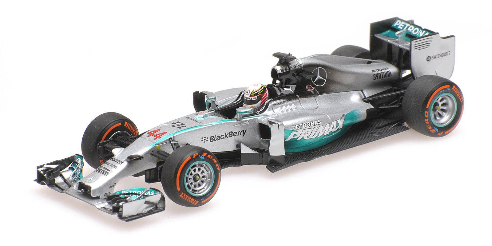 Mercedes AMG w05 lewis hamilton winner Malaysian GP World Champion 2014 1 43