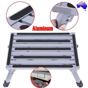 Aluminium Portable Folding Step Stool Caravan Accessories