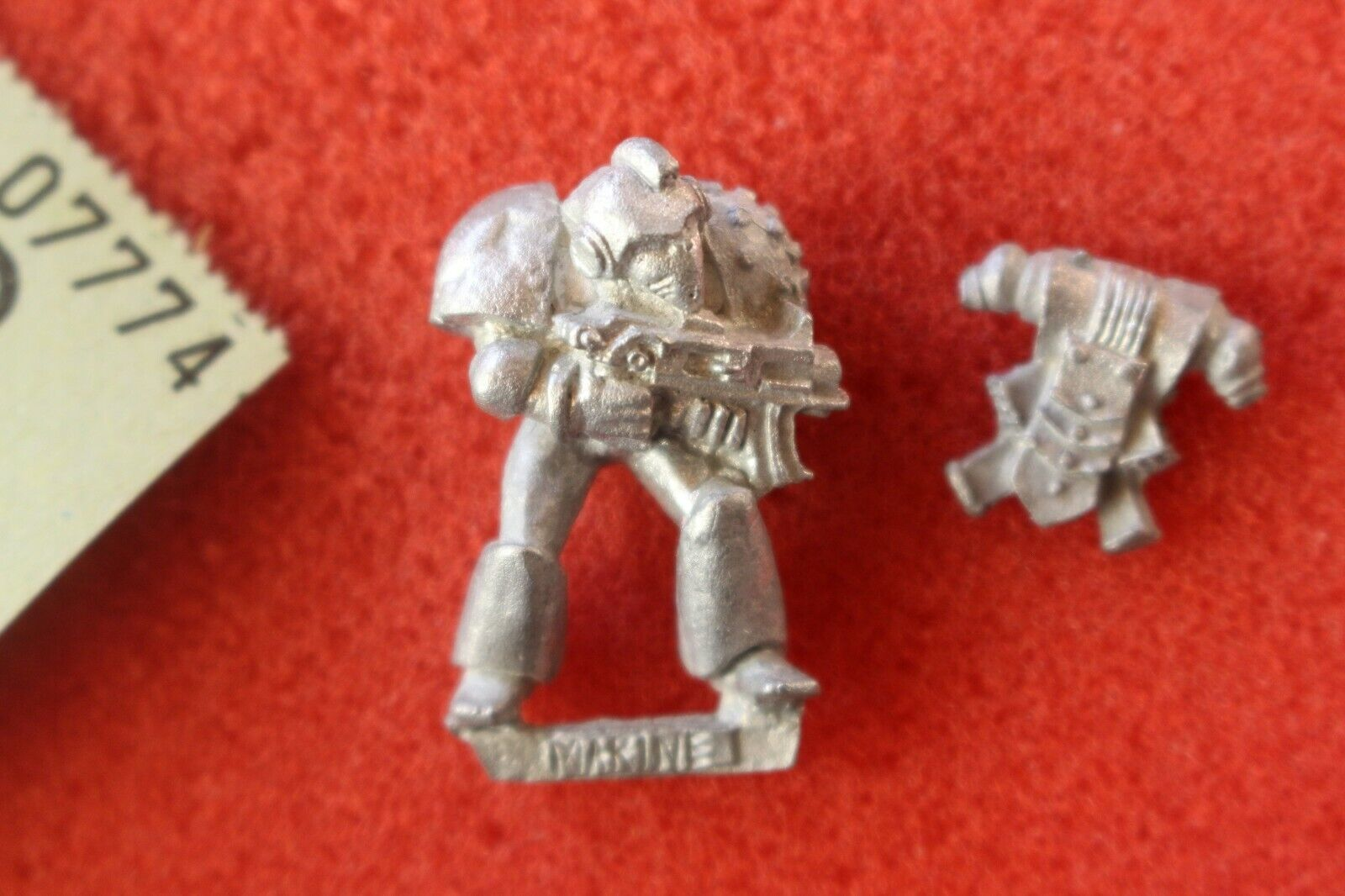 Citadel Talisman Timescape Space Marine Games Workshop Warhammer Figure Metal