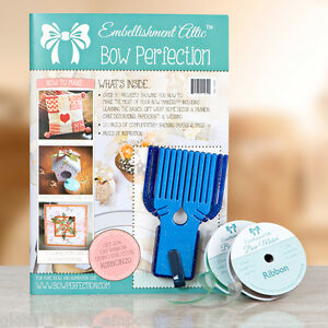 Craft Magazine With Bow Maker