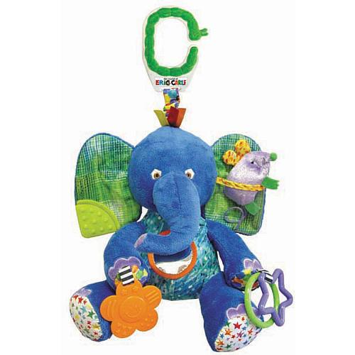 THE WORLD OF ERIC CARLE DEVELOPMENT ELEPHANT PLUSH BRAND NEW GREAT GIFT