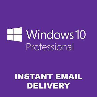 Windows 10 Professional Win 10 Pro 32/64 Bits Product Key License