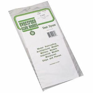 White-Sheet-030-x-6-x-12-2-Styrene-by-Evergreen-Scale-Models-EVG9030