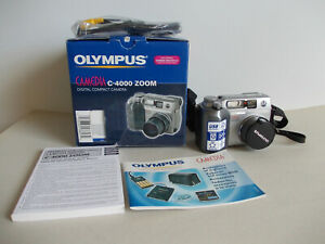 Olympus-C-4000-Zoom-Digital-Kamera-im-Originalkarton-top
