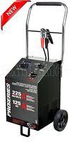 Commercial Car Booster Manual Battery Charger Jump Starter Power 225amp - 6v/12v