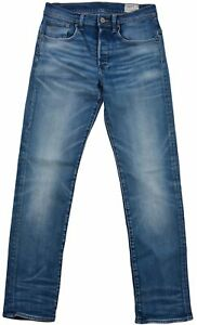 Blu star lunghi 29 Jeans Fly Pantaloni taglia Slim Jeans Raw L30 Button Fit G Women f1xnAw88