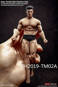 TBLeague-1-12-Scale-6-034-Male-Action-Muscle-Strong-Figure-Body-PH2019-TM02A-Model
