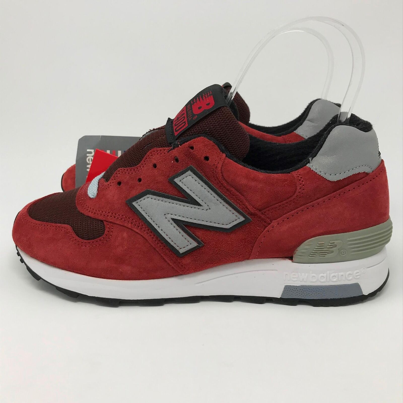 New Balance 1400 Red Suede & Mesh Men's Sneakers Size: 6  [M1400CT]