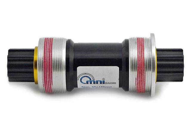 English OMNI Racer Worlds LIGHTEST Steel JIS Square Taper Bottom Bracket