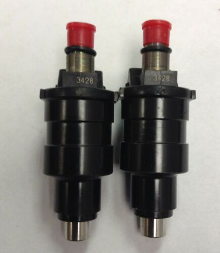 Set of 2 Standard TJ101 NEW Central Port Fuel Injector FORD LTD,MUSTANG,