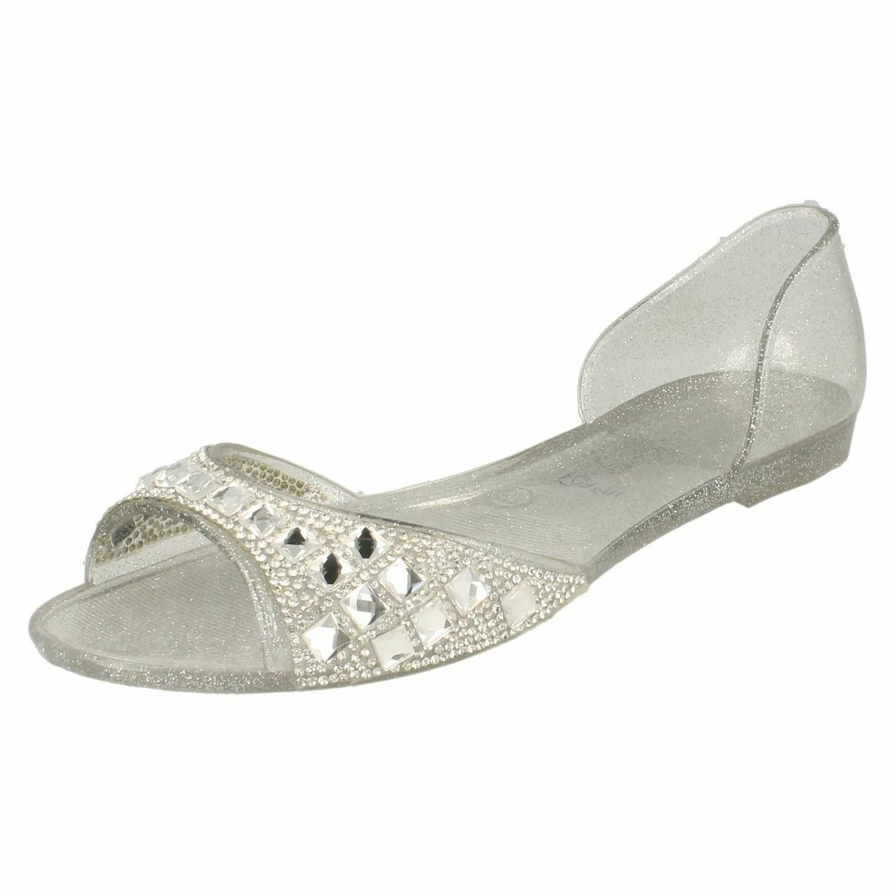 SOLDE Spot piscine/PLAGE/chaussures On f0794 femmes argent piscine/PLAGE/chaussures Spot décontractées 70714c