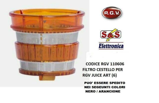 110606 FILTRO CESTELLO ORIGINALE PER ESTRATTORE DI SUCCO RGV JUICE  110600