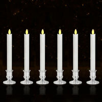 2/6pcs Flameless Color LED Tea Candle Light Home Wedding Party+Remote Control
