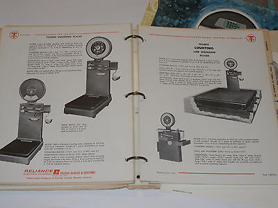 Truck/counting/cotton/person Pure And Mild Flavor Hospitable Vintage 1950s-70s Toledo Industrial Scale Catalog