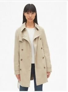 coat Femme Extra Taille Small Autom Manteau classique Trench Khaki Xs Iconic aFpB1AqAd