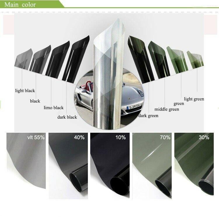 """Window Tint iFireCircle 60"""" x 100FT Window Film Roll 20"""
