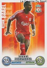 RYAN BABEL  # NETHERLANDS LIVERPOOL.FC CARD PREMIER LEAGUE 2008 TOPPS