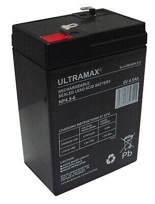 Affidabile 2 X Ultra Max Np4.5-6, 6v 4.5 Ah (come 4ah & 5ah) Big Sky Bait Boat Batterie-mostra Il Titolo Originale In Molti Stili
