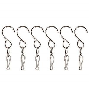 Swivel-Hanger-Clips-Hooks-Hanging-Wind-Spinner-Chimes-Party-Copper-Bird-Feeders