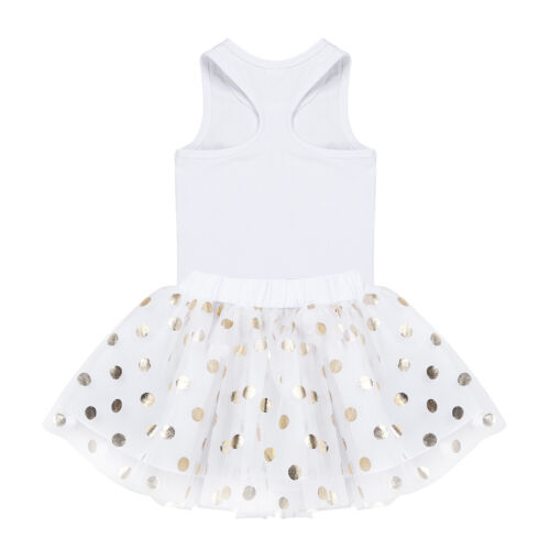 Baby Girls Kid My 1st Birthday Tutu Dress Skirt Princess Romper Outfits Costume