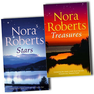 Nora-Roberts-Collection-The-Stars-of-Mithra-4-Novels-In-2-Books-Set-Pack-New