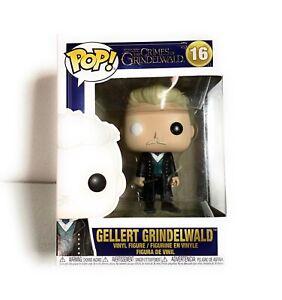 VINYL FIGURE #16 GELLERT GRINDELWALD FUNKO POP FANTASTIC BEASTS 2