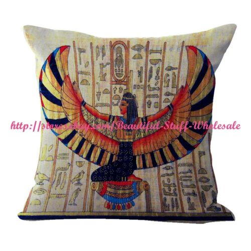 decorative pillow case Ancient Egyptian Goddess Isis cushion cover