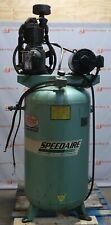 Speedaire Air Compressor 5hp 3ph 1824t Frame 1760 Rpm 80 Gallon Tank