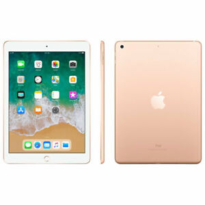 Apple iPad 6th Gen. 128GB, Wi-Fi, 9.7in - Gold (CA)