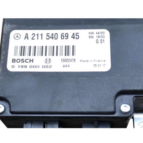 ⭐⭐⭐⭐⭐ A2115406945 Mercedes W211 Batteriesteuergerät *24 Monate Garantie*