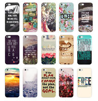 Fashion Quote & Saying Painted Pattern Back Case Cover For iphone 4S 5 5S 5C 6