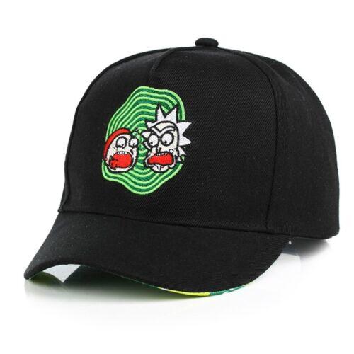 Unisex Cartoon Retro Baseball Cap Snapback Trucker Dad Hat Curved Embroidery New