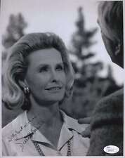 DINA MERRILL JSA COA HAND SIGNED 8x10 PHOTO AUTHENTICATED AUTOGRAPH
