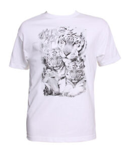 Men's Color Changing Tiger Family T-Shirt