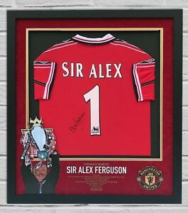 b3cbea7ac Image is loading Alex-Ferguson-Signed-amp-FRAMED-Manchester-United-SHIRT-