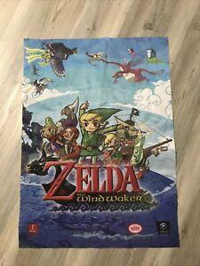 Prima Games Nintendo Gamecube  Legend of Zelda Wind Waker Fabric Poster