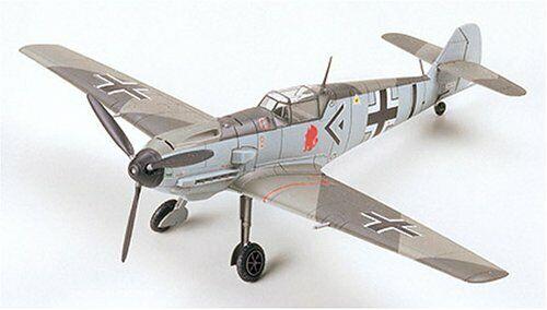 AIRCRAFT MESSERSCHMITT Model Kit BF109E-3 1/72 Tamiya 60750 From Japan F/S