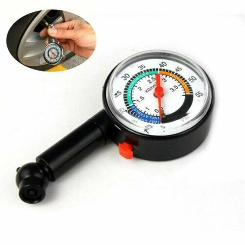Car Motorcycle Tire Tyre Air Pressure Gauge Dial Meter Vehicle Bike Tester*1