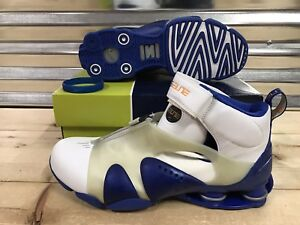 640de2a85c4 Nike Shox Stunner PR Retro 2002 Shoes VC Vince White Blue SZ 11.5 ...