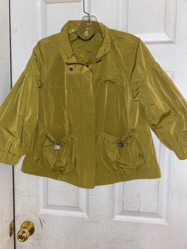 Burberry Jacket Women's Sz 10 Safari Jacket 3/4 Sl