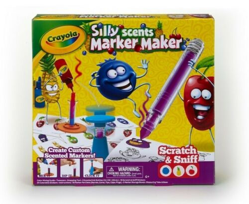 Crayola Silly Scents Marker Maker Scented Marker Gift Boys Girls Unisex Craft