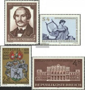Austria 1364,1365,1366,1367 complete Issue Used 1971 Special Traveling