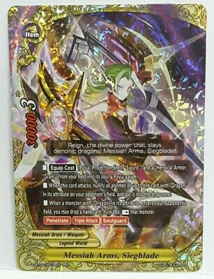 Future Card Buddyfight Messiah Arms Siegblade S Bt06 0019en Rr Legend World Ebay