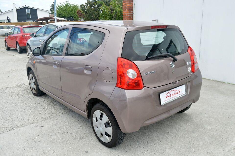 Suzuki Alto 1,0 GL Aircon Benzin modelår 2010 km 47000