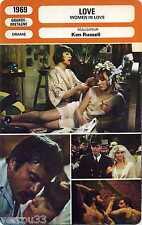 Fiche Monsieur cinéma. Love 1969 Grande-Bretagne Ken Russell