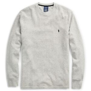 e1640caf Details about New : Polo Ralph Lauren Mens Waffle Knit Thermal L/S shirt :  GRAY - S - XXL