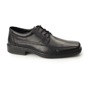 Rieker B0812-01 Mens Leather Extra Wide
